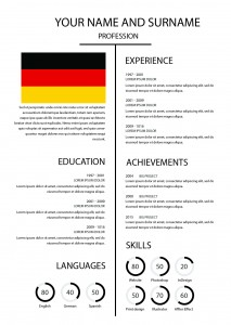German Cv Or Resume Sscdtk